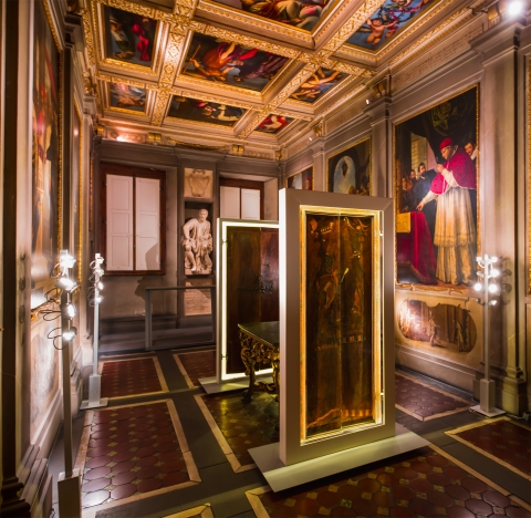 Glimpse into Michelangelo's paintings and sculptures at Palazzo Buonarroti,Florence