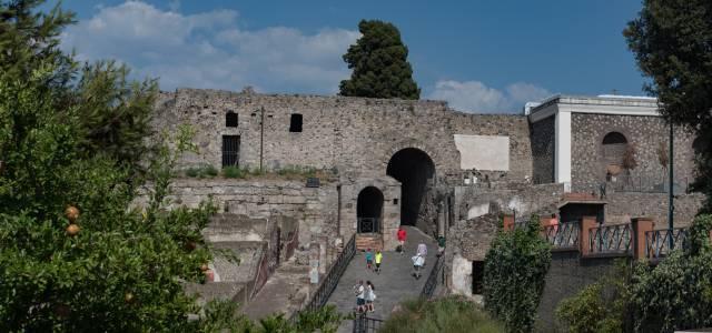 Main Entrance to Pompeii