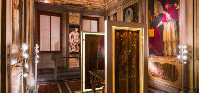 Glimpse into Michelangelo's paintings at Palazzo Buonarroti, Florence