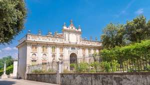 Exterior view of Galleria Borghese in Rome